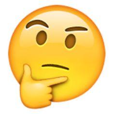 Resultado de imagem para emoji doubt