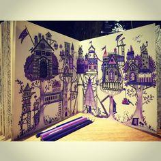 Johanna Basford | Colouring Gallery faber castell