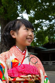 Girl with #Kimono in #Japan