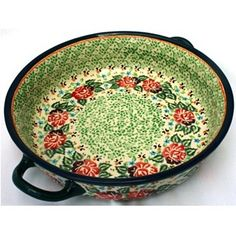 polish stoneware - another great pattern