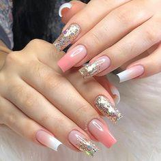 Cute Nails, My Nails, Nail Art Designs Videos, Nail Designer, Pink Acrylic Nails, Manicure Y Pedicure, Beautiful Toes, Nail Decorations, Nail Tools