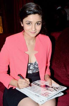 Alia Bhatt Unveils the Cover of Harper's Bazaar