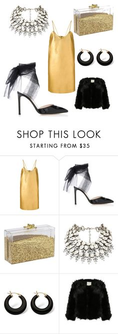 """""""happy new year"""" by karymathryn ❤ liked on Polyvore featuring Manokhi and Palm Beach Jewelry"""