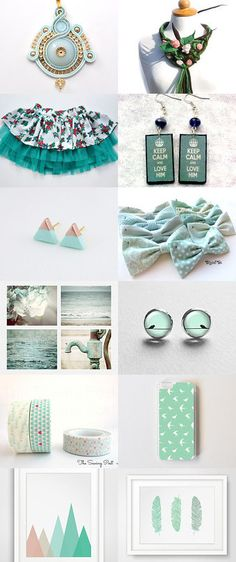 Mint day by ffuf on Etsy--Pinned with TreasuryPin.com