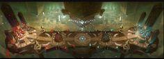 ArtStation - 3 concept , Ocean Liu