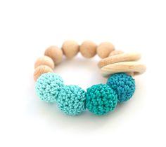 Sonajeros, juguete, mordedor, regalos de Navidad de NiHaMa - Nice Hand Made por DaWanda.com