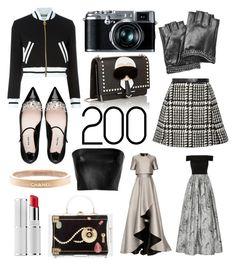 """200"" by xoxo-camellia on Polyvore featuring Charlotte Olympia, Miu Miu, Moschino, Fendi, Retrò, Lancôme, Karl Lagerfeld, Jill Stuart, Jason Wu and Alice + Olivia"