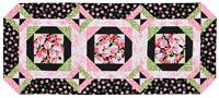 Rose Bouquet Table Runner @Janet Russell-Snider Patchwork & Quilting