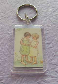 No skill involved.... just a pretty pic in a perspex keyring.