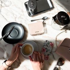 But first coffee  case: @casetify #thebeautyissue