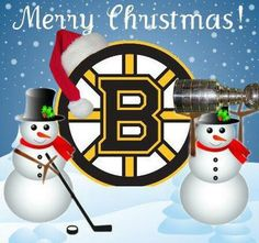 Merry Christmas from the Boston Bruins