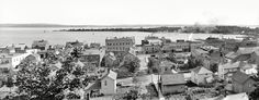 """""""Harbor Springs and Harbor Point, Little Traverse Bay"""", c. 1906."""