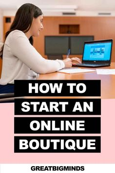 Learn how to start online boutique business in 6 simple steps. By the end of this step by step tutorial, you would have learned how to build a profitable online clothing boutique today. Read more inside. #onlinestore #onlineboutique #onlineclothingboutique #onlineboutiquebusiness #ecommerce Boutique Stores, Boutique Clothing, Starting An Online Boutique, Drop Shipping Business, Online Clothing Boutiques, Gothic Outfits, Ecommerce, Simple, Building