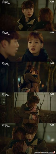 [Spoiler] 'Cheese in the Trap' Seo Kang-joon hugs Kim Go-eun-I: Love triangle gets worse @ HanCinema :: The Korean Movie and Drama Database