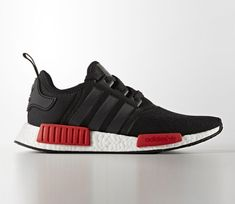 adidas NMD - Black / Red - White