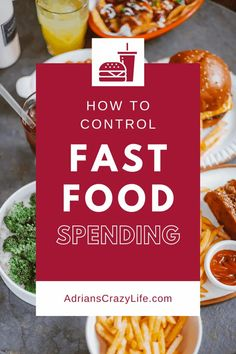 Fast food seems like such an easy and harmless thing - a burger here, a pizza there, maybe a latte in the morning, but before you know it, it can really sabotage your budget. Parenting Teens, Parenting Hacks, Money Saving Meals, Money Savers, Show Me The Money, Food Challenge, Recipe Please, Snack Recipes, Snacks