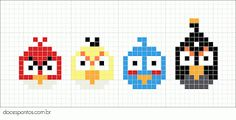 Doces Pontos: Italian language blog with some sweet little cross stitch patterns.