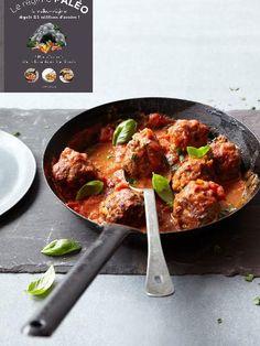 Boulettes de viande à l italienne - recette paléo