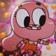 Metadinha Gumball and Anais -The Amazing World of Gumball Cute Emoji Wallpaper, Cartoon Wallpaper Iphone, Flower Phone Wallpaper, Cute Disney Wallpaper, Cute Cartoon Wallpapers, Gumball Image, Instagram Cartoon, Cute Love Memes, World Of Gumball
