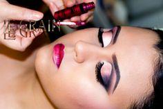 Curso de maquiagem Belo Horizonte Studio Le Grain - maquiagem Kris Xiva