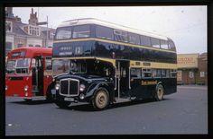 East Yorkshire Motor Service AEC Renown CKH 774C Scarborough Duplicate Bus Slide
