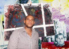 Domingo Guzmán ilustrador y artista plástico dominicano.