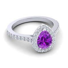 Amethyst | Engagement Rings | Gemstone Jewelry