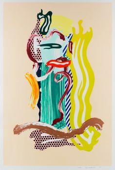 Roy Lichtenstein | Portrait, from Brushstroke Figures series (1989) | Available for Sale | Artsy
