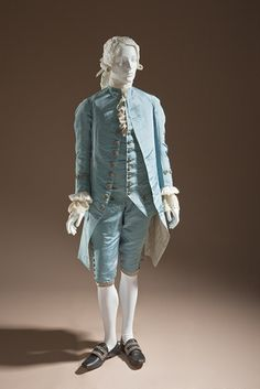 Suit 1765, French, Made of silk