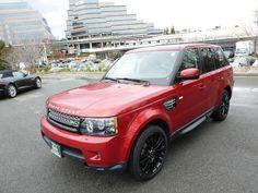 2012 Land Rover Range Rover Sport, 35,550 miles, $54,995.