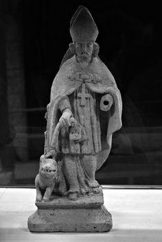 Saint-Clément liant le Graoully à son étole