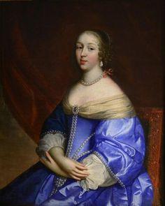 Anne Geneviève de Bourbon Condé, duchesse de Longueville Conde (1619-1677), attributed to Charles and Henri Beaubrun