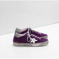 4682e4801a8b6 605 Women s Super Star in Suede Purple Sale - Golden Goose Deluxe Brand  Sneakers outlet sport online line online