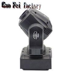 60 W Moving head light DMX DJ Disco Bruiloft Podium Effect Armatuur 60 W Wit LED Spot Moving Head licht