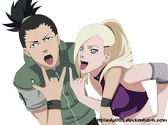 Image discovered by albumos. Find images and videos about naruto, shikamaru and ino on We Heart It - the app to get lost in what you love. Anime Naruto, Naruto E Boruto, Naruto Cute, Naruto Funny, Shikamaru, Kakashi, Otaku Anime, Naruhina, Ino And Sai