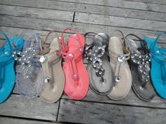 Wish this was my summer sandal collection x by Classy Rags
