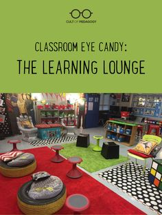 This no-desks classroom dazzles with bright pops of color, tons of student choice, and a Tardis that's more than meets the eye. #CultofPedagogy