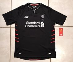NWT NEW BALANCE Liverpool F.C. 2016/2017 Away Jersey  Youth XL | eBay
