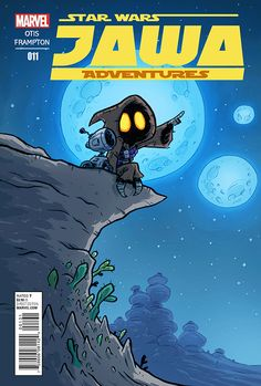 """""""Jawa Adventures"""" is a comic series that doesn't exist… yet! But if you'd like to see a series like this on the comic shop stands, if you want to help make it a realit. Star Wars Cartoon, Star Wars Comics, A Comics, Star Wars Characters Pictures, Star Wars Pictures, Fantasy Characters, Star Wars Drawings, Nerd Art, Lil Boy"""