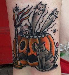 tattoo by Emily Breadner @furiousxkitten