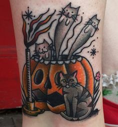 tattoo by Emily Breadner @furiousxkitten