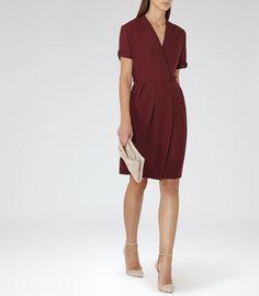 Womens Juniper Wrap Dress - Reiss Camden