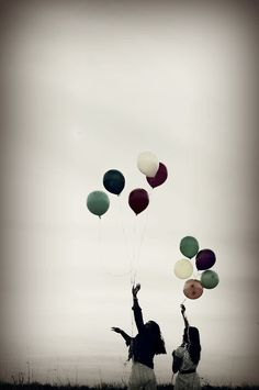 #7 let go of balloons :)