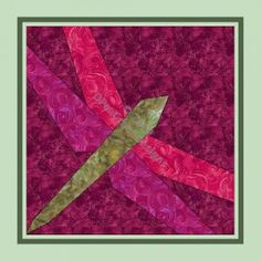 quilt patterns free printable | FREE DRAGONFLY QUILT PATTERNS | Browse Patterns
