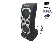 Altavoz Caja Portátil Con Radio, MicroSD y USB - http://complementoideal.com/producto/altavoz-con-radio-microsd-y-usb-modelo-8899/ - Altavoz con Radio, MicroSD y USB Además con el Altavoz Con Radio podrás disfrutar de todas las emisoras de la Radio FM para que no te pierdas tus programas favoritos. El Altavoz Con Radio es compatible con tarjetas SD, MicroSD , reproduce tu música o la de tus amigos insertando la ...