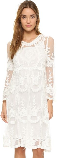 Anthropologie x bhldn frida wedding guest dress for Anthropologie beholden wedding dress
