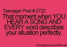 Everyone of my million favorite songs has its own special reason why its a favorite song.