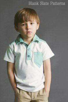 Perfect Polo pdf sewing pattern by Blank Slate Patterns