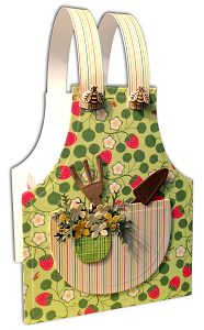 Stamps - Our Daily Bread Designs Exclusive Apron and Tools Die