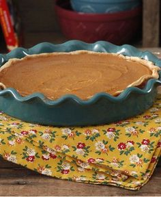 Pumpkin Pie by The Pioneer Woman /Cook/Recipes/100884/